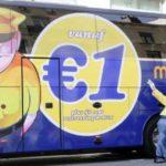Автобусный лоукостер распродает билеты на рейсы внутри Франции по 1 евро