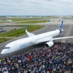 Новый аэробус A350 бьет рекорды по числу заказов